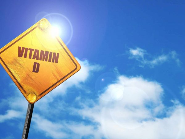 vitamin d, 3D rendering, traffic sign