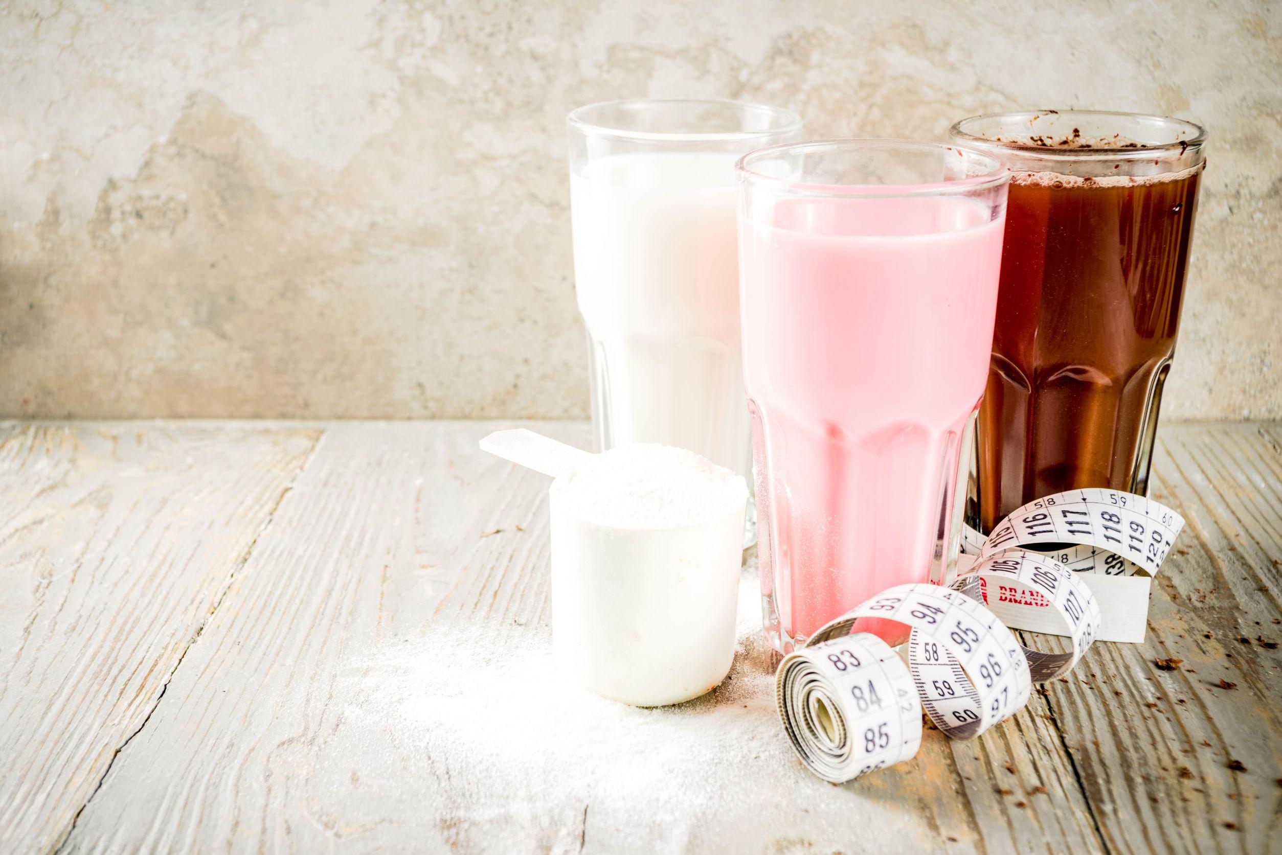 Milchshakes zur Gewichtsreduktion verwenden Vitamine