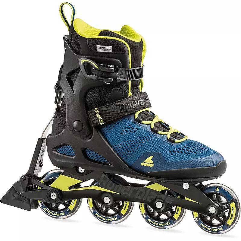 Rollerblade - Macroblade 80 ABT M - Inline-Skates für Herren - Blau-Lime