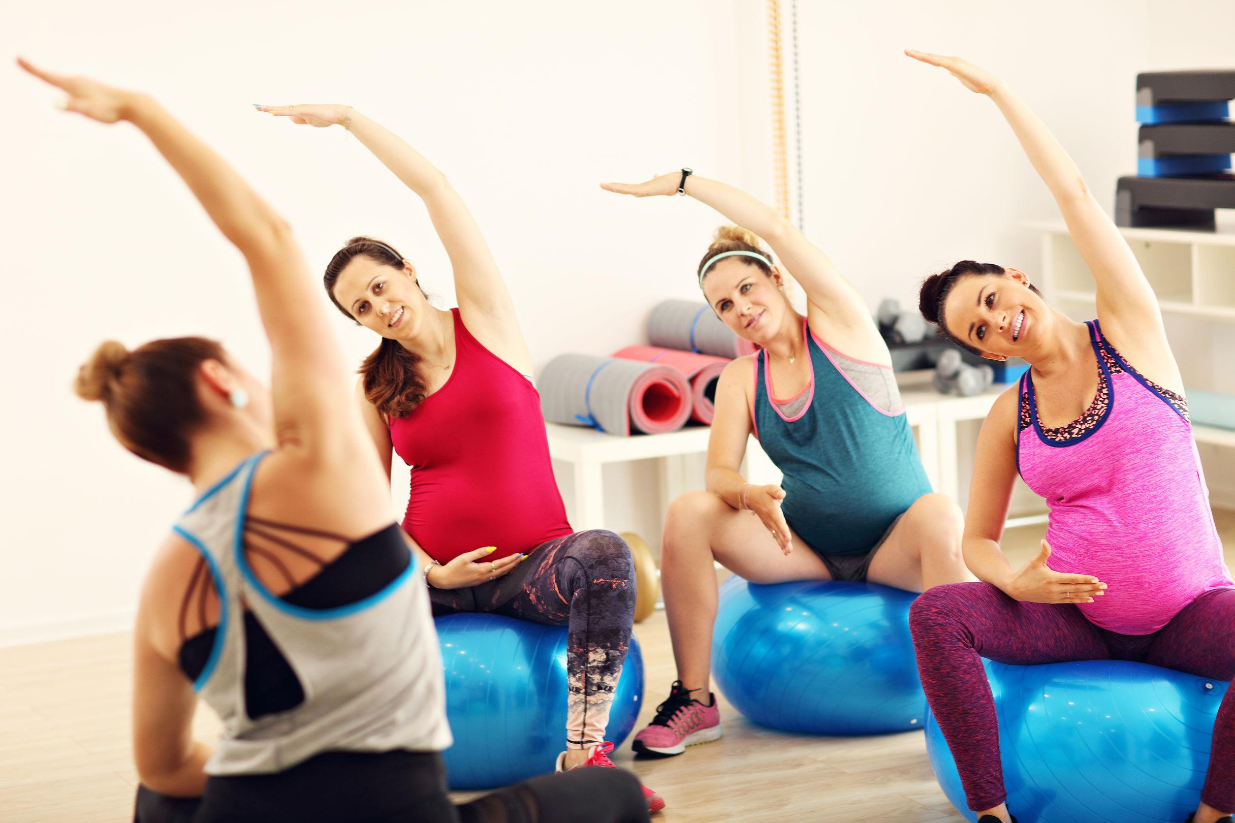 Übungen zum Abnehmen während der Schwangerschaft