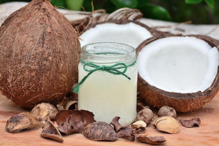 Richtige Dosis Kokosöl, um Gewicht zu verlieren