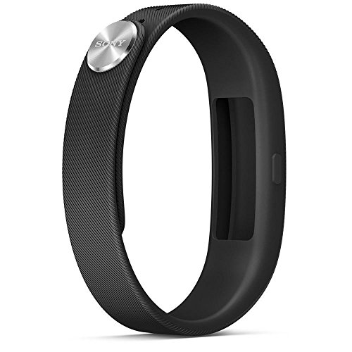 Sony Mobile SWR10 SmartBand Aktivitätstracker Schlaftracker Fitness Tracker - Schwarz