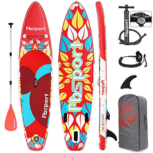 FBSPORT Stand Up Paddling Board, SUP Board 15CM dick, Stand Up Paddle für Anfänger und Profis, Surfboard