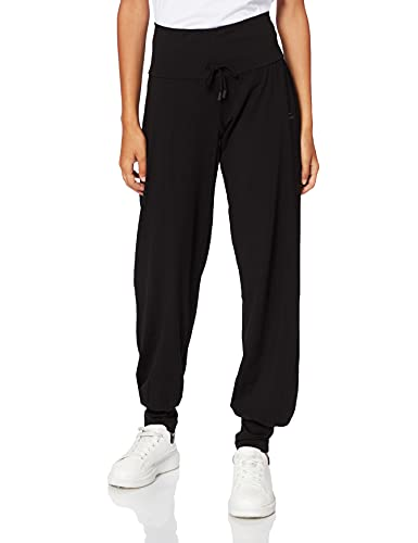 Venice Beach Damen Jogginghose Uma Pants Sporthose, Black, M