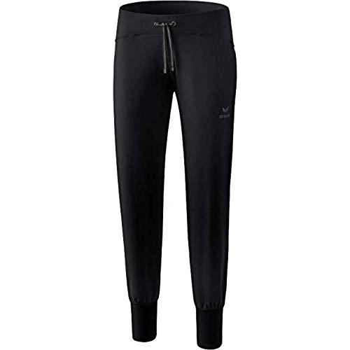 ERIMA Damen Hose Yogahose, schwarz, 38, 2101801