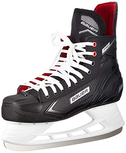 Bauer Herren Pro Skate Sr Feldhockeyschuhe, Schwarz (Schwarz-Weiss-rot-SI 900), 42 EU