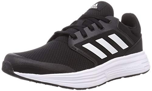 adidas Herren Galaxy 5 Laufschuhe, Core Black Footwear White Footwear White, 46 EU
