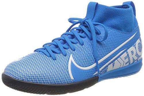 Nike Superfly 7 Academy Ic Fußballschuhe, Mehrfarbig (Blue Hero/White/Obsidian 414), 32 EU