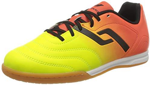 Pro Touch Unisex-Kinder Classic II IN Jr. Fußballschuhe, Orange (Orange/Gelb/Schwarz 000), 30 EU