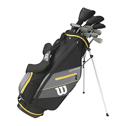 WILSON Herren Ultra XD 2020 Golfschläger Set Mit Stand Tasche Golf Komplettset Eisen Hölzer Driver Bag (Rechtshand/Standardlänge, mit Graphitschaft)