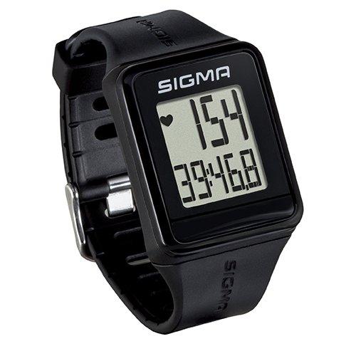 Sigma Sport 24500 Pulsuhr iD.GO black, Herzfrequenz-Messung, Fitness-Laufuhr, Schwarz